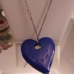 Nwts Heart Necklace. M28-4